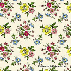 Fabric... Miss Modd Bouquet by Chelsea Andersen