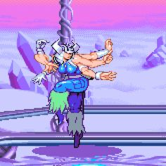 Spiral X-Men: Children of the Atom, arcade. Marvel Comic Universe, Marvel Vs, Sprites, Pixel Life, Pixel Animation, Pixel Art Games, Animation Reference, Cool Animations, Halloween Disfraces