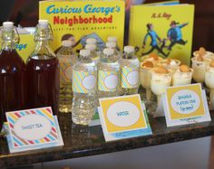 curious george baby shower | kojodesigns