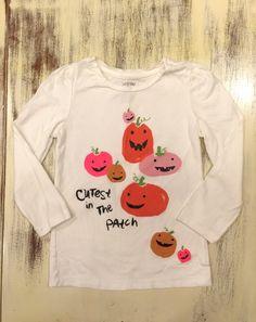 Check out this listing on Kidizen: 4t babyGap Pumpkin Tee  via @kidizen #shopkidizen