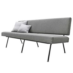 Sofa by Florence Knoll International Model No. 32 | From a unique collection of antique and modern sofas at https://www.1stdibs.com/furniture/seating/sofas/