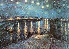 Impressionism by Vincent Van Gogh. Van Gogh paintings are studies in color. Be…van gogh Van Gogh Pinturas, Gogh The Starry Night, Starry Nights, Stary Night Van Gogh, Van Gogh Paintings, Monet Paintings, Impressionist Paintings, Famous Art Paintings, Beautiful Paintings