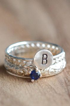 Your birthstone. Your initial. It's like it was made for you (psst, it was).
