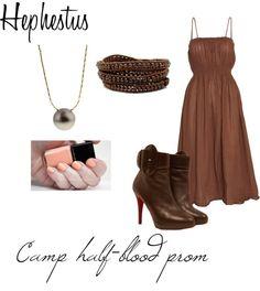 """Camp half-blood prom: Hephestus"" by fireflower10112 on Polyvore"