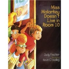 The narrator, convinced that his teacher, Miss Malarkey, lives at school, visualizes her life there after hours