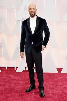 Common in a Prada tux with Fred Leighton jewels.