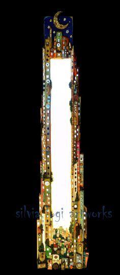Mirror frame by Silvia Logi