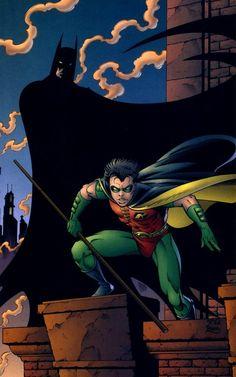Batman & Robin tom grummett