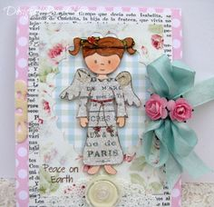Created by Char Cundy using Emma and Christmas Blessings stamp sets from www.papersweeties.com