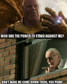 Stan Lee is the hero we need. The hero we deserve