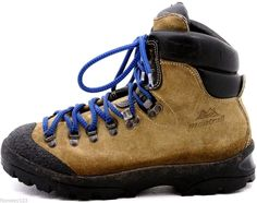 Montrail mountaineering hiking backpacking womens boots shoes size B VIBRAM Botas Ski, Mountaineering Boots, Hiking Backpack, Timberland, Hiking Boots, Camping, Brown, How To Wear, Outdoor