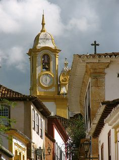 Colonial architecture in Tiradentes, Minas Gerais, Brazil (by Ken Eisner).