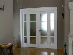 Drzwi wewnętrzne klasyczne białe model DWK16