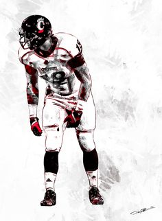 Established look and feel for all Cincinnati Bearcats athletics. Cincinnati Bearcats, University Of Cincinnati, Travis Kelce, Football Uniforms, Design Art, Athlete, Superhero, Cheer, Behance