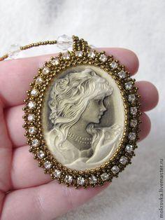 """Pendants handmade.  Fair Masters - handmade Pendant """"Old Portrait"""".  Handmade."""