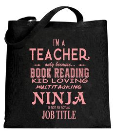Teachers are Ninja's