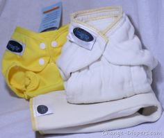 @imagine_baby bamboo prefold #clothdiapers and covers via @Change-Diapers.com