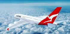 There's never been a better time to be a Qantas Frequent Flyer than right now. As part of their rewards programme, the airline has enlisted secret listings on Airbnb where passengers can bag First and Business Class Seats. Qantas Airlines, Airplane Art, Airbus A380, First Class, Business Class, Airports, Disney Trips, Drones, Airplanes