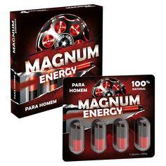Assuma o controlo com MAGNUM ENERGY e caracterize o seu desempenho sexual com ereções firmes.