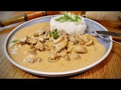 STROGANOFF od šéfa! - YouTube Salty Foods, What To Cook, Thai Red Curry, Potato Salad, Meat, Chicken, Cooking, Ethnic Recipes, Pineapple