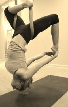 Aerial Yoga- Yes PLEASE!