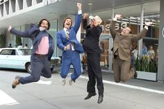 Yay! We're going to the suit store!