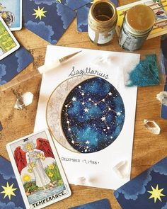 - jamar phelps 909 - Space Everything Watercolor Galaxy, Galaxy Painting, Galaxy Art, Watercolor Art, Constellations, Buch Design, Moon Art, Painting & Drawing, Moon Painting