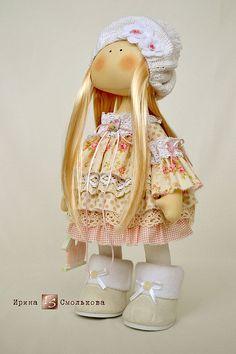 Купить CANDY - розовый, кукла, текстильная кукла, кукла текстильная, кукла ручной работы