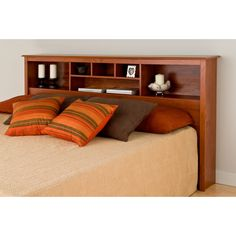 You'll love the Oslo Wood Bookcase Headboard at Wayfair - Great Deals on all Furniture products with Free Shipping on most stuff, even the big stuff.