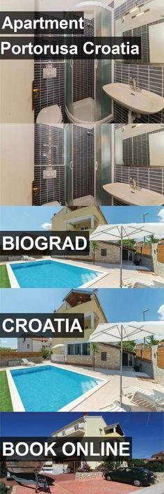 Apartment Portorusa Croatia in Biograd, Croatia. For more information, photos, reviews and best prices please follow the link. #Croatia #Biograd #travel #vacation #apartment