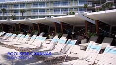 cabana - Cabana Bay Beach Resort Courtyard Pool at Universal Orlando Resort Courtyard Pool, Universal Orlando, Modern Retro, Beach Resorts, Cabana, Facade, Las Vegas, Hotels, Florida
