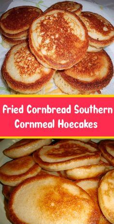 Fried Cornbread Southern Cornmeal Hoecakes – What To Cook For Dinner Brunch Recipes, Bread Recipes, Cooking Recipes, Easy Recipes, Biscuit Bread, Biscuit Recipe, Breakfast Dishes, Breakfast Recipes, Fried Cornbread