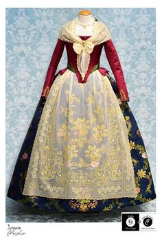 Regional, Spain, Clothes, Dresses, Ideas, Fashion, 18th Century, Plunging Neckline, Needlework