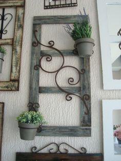 trendy wood home decore diy old windows Decor, Diy Furniture, Farmhouse Decor, Old Windows, Cheap Home Decor, Wood Projects, Ladder Decor, Home Decor, Iron Decor