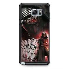 Star Wars The Force Awakens The Main Villain TATUM-10063 Samsung Phonecase Cover Samsung Galaxy Note 2 Note 3 Note 4 Note 5 Note Edge