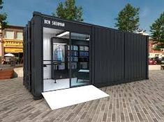 Image result for container cafe