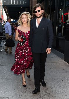 Man and wife: Dianna Agron, and Winston Marshall, got married Saturday in Morocco . Celebrity Engagement Rings, Celebrity Couples, Celebrity Style, Celebrity Weddings, Dianna Agron, Winston Marshall, Marc Jacobs Dress, Engagement Celebration, Man And Wife