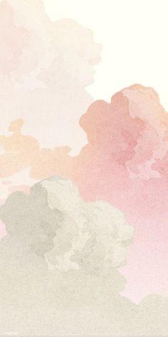Pastell Wallpaper, Pink Clouds Wallpaper, Iphone Background Wallpaper, Pastel Color Wallpaper, Pastel Background Wallpapers, Pastel Iphone Wallpaper, Blog Backgrounds, Pattern Wallpaper Iphone, Iphone Minimalist Wallpaper