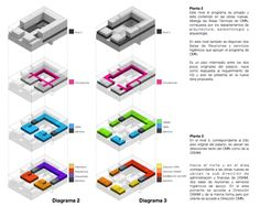 Imagen 5 de 11 de la galería de Mención Concurso Puesta en Valor y Renovación del Monumento Nacional Palacio Pereira / Tidy Arquitectos + NKZ. esquemas plantas 1 y 2