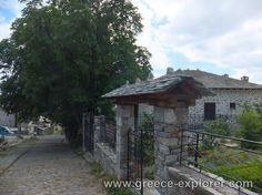 Village Vizitsa in Mount Pelion Gazebo, Greece, Outdoor Structures, Explore, Places, Greece Country, Kiosk, Pavilion, Cabana