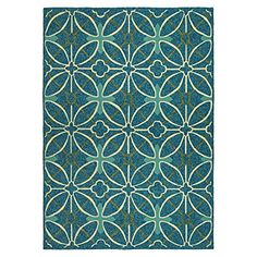 Couristan Fresco 22665000 Netherlands Rug 5Feet 6Inch by 8Feet AquaBlue >>> Find out more about the great product at the image link.