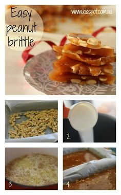 Easy peanut brittle