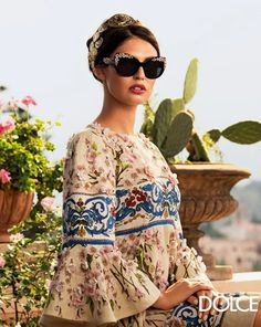 @Who What Wear - Dolce & Gabbana S/S 2014 Eyewear Campaign