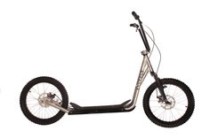 Diggler Alfa Disk - The Worlds Best All Terrain Mountain Scooters- Built for Dog Scootering, Urban Mushing, Kick Scootering, Adult and Kid Scooters