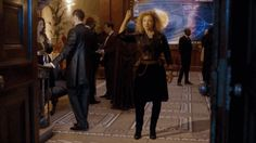 River Song is arguably the most divisive character to come to Doctor Who in the past five years. She's a swashbuckling archeologist who outwits almost everybody, and an unabashedly sexy older woman. She's also so dependent on the Doctor as to be kind of a satellite.