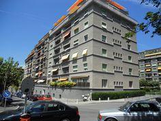 Square Montchoisy Multi Story Building, Street View, Construction, Building