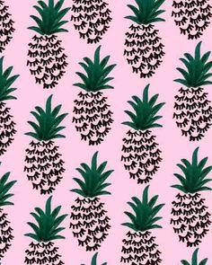 PRINT | Pineapple Lash.