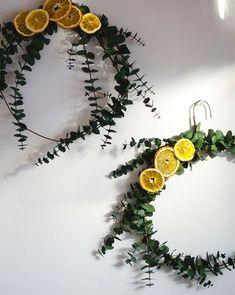 Eucalyptus and Dried Orange Wreath DIY Natural Christmas, Noel Christmas, Winter Christmas, Christmas Wreaths, Christmas Decorations, Xmas, Fall Wreaths, Christmas Ornament, Hygge Christmas