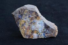 Raw Boulder Opal Mineral Specimen for Rock Collector, Rare Precious Natural Australian Opal, October Birthstone, Ancient Stone, Purple, Blue. #jewelry #jewelrymaking #jewelrydesign #boho #bohochic #gypsy #bohostyle #bohojewelry #opal #stone #gemstone #pearl   #raw