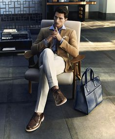 Tom Warren for Tod's Spring/Summer 2014 Campaign #menswear